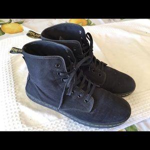 Doc Martens Canvas Shoreditch Black Boots